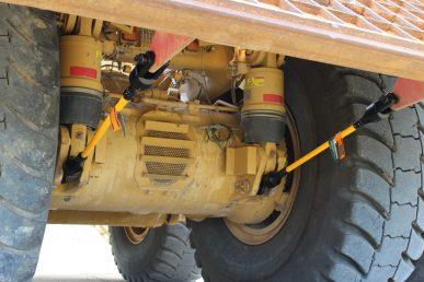 Haultruck Tieback Body Up Cable